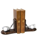 Bookend GOLF Traditional Antique Driver and Four Iron Club - $219.00