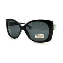 Romance Diva Womens Square Rectangle Butterfly Large Designer Fashion Sunglasses - $9.95
