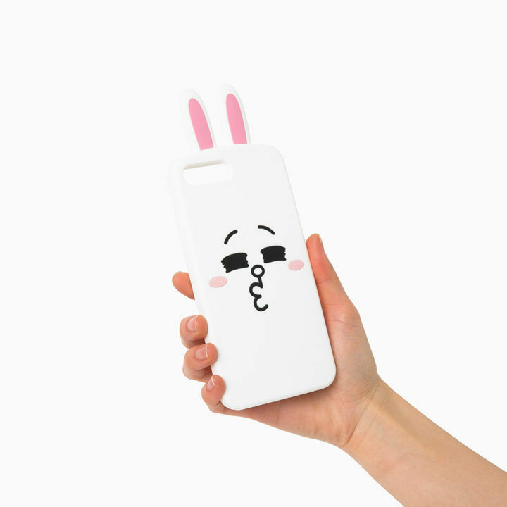 LINE Friends Character CONY iPhone Silicone Case 7 / 7 Plus Phone Cover Mobile
