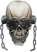 Halloween Megadeth Vic Rattlehead Deluxe Mask TOT's Officially Licensed  - £65.08 GBP