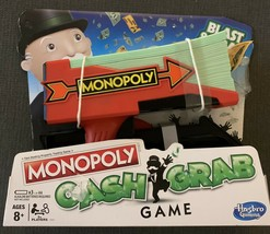 Monopoly Cash Grab Game Fast Dealing Property Trading Game 3+ Players K... - $11.87