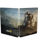 Fallout 76 Power Armor Helmet PC PS4 XBOX ONE Dawn Brown Steelbook EMPTY... - $35.99