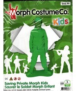 Morph Kids Saving Private Green Soldier Costume Small - $39.59