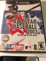 Nintendo Gamecube Video Game All- Star Baseball 2003 Complete In Box - $6.49
