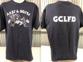 GCLFD Fire Department Axes & Hoses XL T-Shirt - $13.75