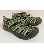 Keen Newport H2 Size 5 Youth EU 37 Gray Green Waterproof Sport Sandals 1014266 - $31.63