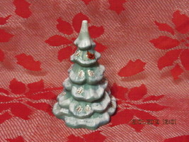 "FENTON ART GLASS  2019 FGS EXCLUSIVE 6.5"" TALL CHRISTMAS PINECONE TREE L... - $225.00"