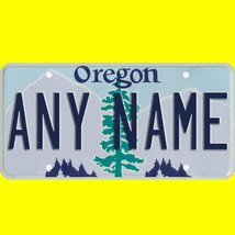 RC or model car custom Oregon license plate set - 1/5 to 1/42 scale - $11.00