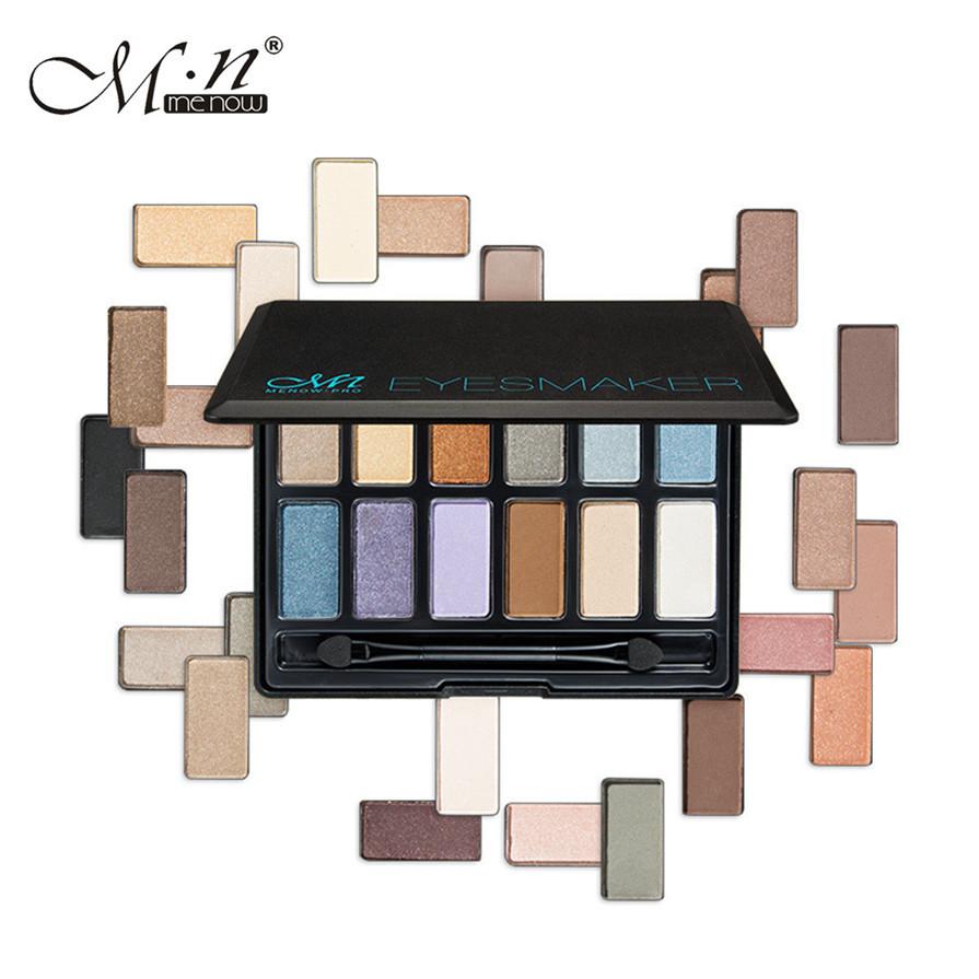 BAHYHAQ - Smoky Eye Shadow Cosmetic Set 12 Colors Long lasting Natural Matte