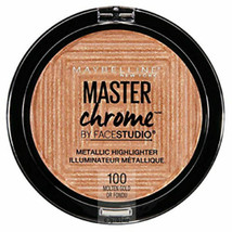 Maybelline Master Chrome Metallic Highlighter - 100 Molten Gold - $5.25