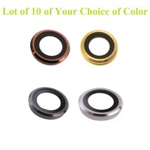 Lot of 10 x Rear Back Camera Lens Glass Ring Cover for iPhone 6 6g 6S 6 ... - $9.84