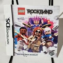 Lego Rockband Nintendo DS Instructions Manual Only - $4.84