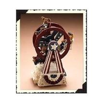 """Boyds Bearstone """"Martha, Dolly & George"""" #227815- 2E-  WIND UP Musical - NIB - $49.99"""