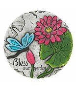 Tom & Co. BLESS OUR GARDEN BUTTERFLY STEP STONE - $19.04
