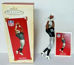 2003 Hallmark Jerry Rice Oakland Raiders Ornament NFL Football Legends U17 - $16.99