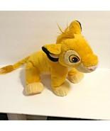 "Disney Plush Simba Just Play 13"" lgth 10.5 tall Stuffed Animal Toy  Lion... - $13.09"