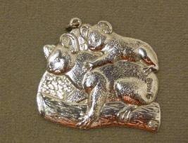 "Jabeh of England 1989 Sterling Silver Ornament Endangered Species ""Koala Bear""  - $69.98"