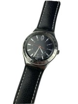Swatch Irony Twirl AG2002  Watch Rare Model Original Leather Band See Pictures - $49.49