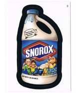2006 Topps Wacky Packages Series 4 Snorox Bleach Trading Card 3 ANS4 - $5.99