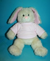 """Build A Bear Easter Bunny Rabbit 13"""" Pink Ears Nose Soft Toy Stuffed 1997 Vtg - $38.54"""