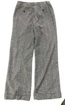 Anne Klein Wool Dress Pants tweed Career trousers women 10 Stretch Wide Leg - $19.79