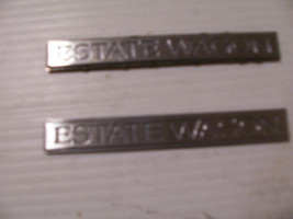 1994 1995 1996 Buick Roadmaster Estate Wagon Trim Emblem Oem Used Left & Right - $58.06