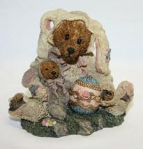 Boyds Bears & Friends Easter Rabbit Figurine SHERLOCK & WATSON IN DISGUISE - $12.86