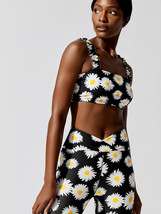 NWT Year Of Ours Daisy Samba Sports Bra carbon38 Anthropologie size M - $62.00