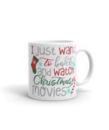 New Mug - I just want to bake and watch christmas movies Mug - $10.99+