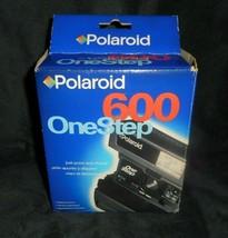 Vintage Polaroid 600 One Step Instant Film Camera In Box - $43.53