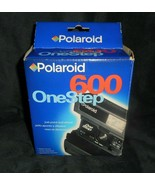 VINTAGE POLAROID 600 ONE STEP INSTANT FILM CAMERA IN BOX - $45.82