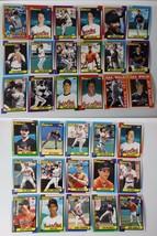 1990 Topps Baltimore Orioles Team Set of 33 Baseball Cards - $3.50