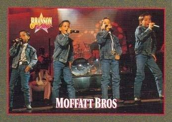 Moffatt Bros trading card (Country Music) 1992 Branson on Stage #19