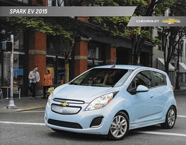 2015 Chevrolet SPARK EV brochure catalog folder US 15 Chevy LT ELECTRIC - $8.00