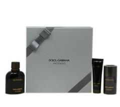 Dolce & Gabbana Intenso 3 Piece Gift Set Eau De Parfum Spray 125 ML/4.2 Oz. Nib - $71.78
