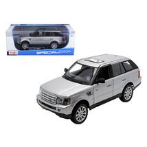 Range Rover Sport Silver 1/18 Diecast Model Car by Maisto 31135s - $48.81