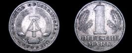 1956-A German Democratic Republic 1 Mark World Coin -  East Germany - $16.99