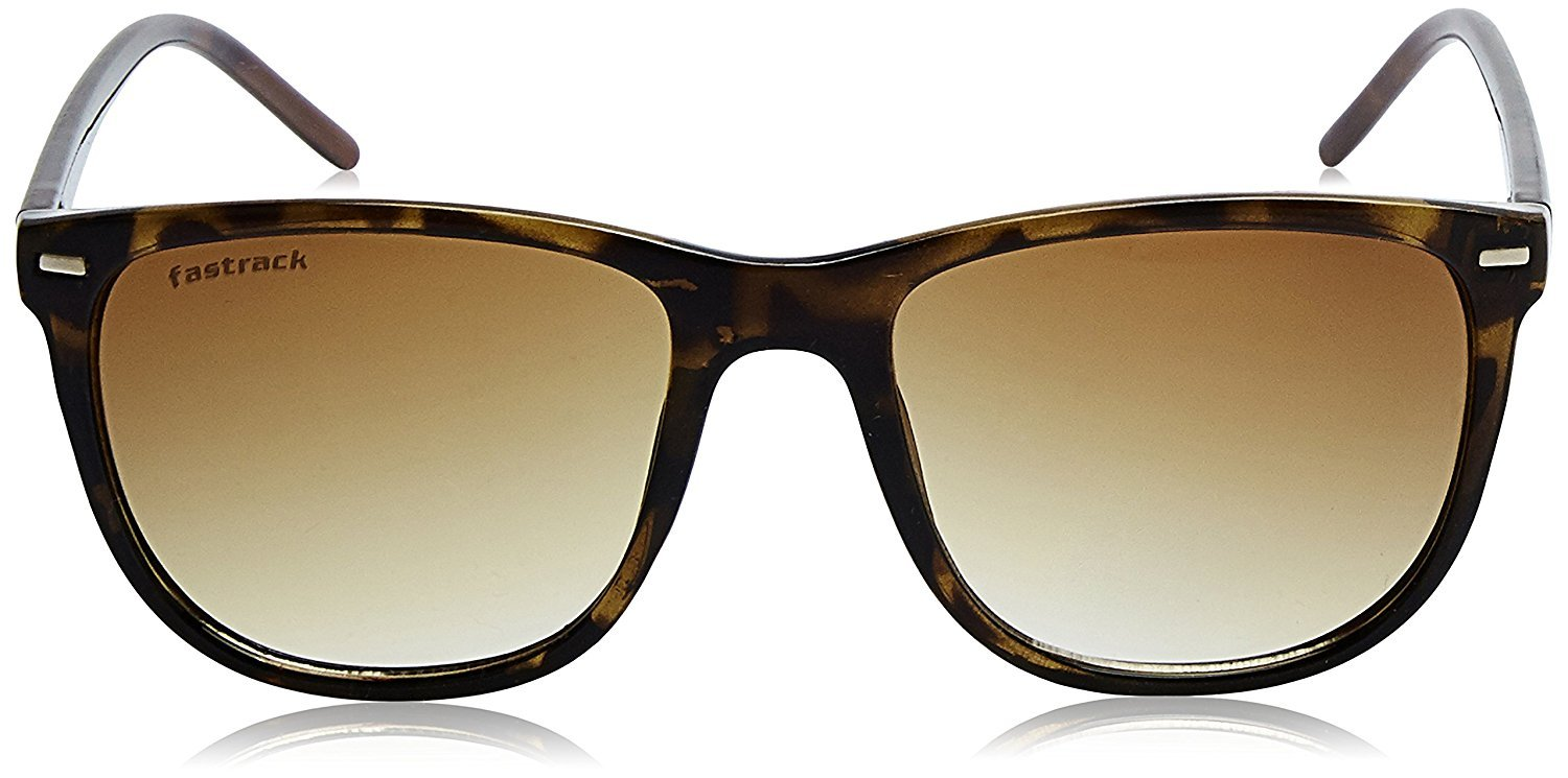 Fastrack Gradient Square Men's Sunglasses - (P365BR1|53|Brown Color)