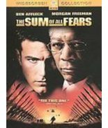 Sum Of All Fears - Special Collectors Edition - DVD - $7.25