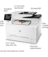 HP Color Laserjet M281FDW  All In One T6B82A PLUS Xtra toner set HP 202X... - $446.39