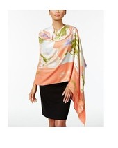 Calvin Klein Oversized Spring Floral Print Scarf Blossom Wrap - $40 - NWT - $18.00