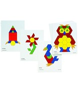 Learning Advantage 8837 Pattern Block Activity Cards (Pack of 20) - $13.47