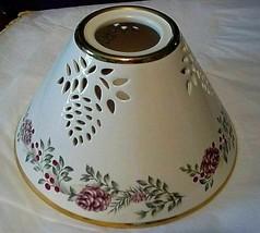 "Lenox Ceramic Lamp Shade Globe 8"" diameter - $39.59"