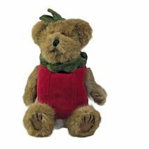 "Boyds Bears Plush Smith Applewish 8"" Fabric Peeker Apple Bear 918357 Ret... - $11.87"