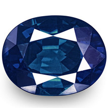 GIA Certified NIGERIA Blue Sapphire 0.54 Cts Natural Untreated Oval - $878.00