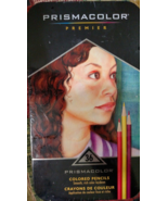 PRISMACOLOR PREMIER 36 COLORED PENCILS in Collectible Tin Box!  **NEW** - $19.99