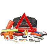 CYECTTR Car Emergency Kit with Jumper Cables,Safety Hammer,Tire Pressure... - $52.99