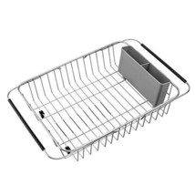 SANNO Over The Sink Expandable Dish Drying Rack, Dish Drainer,Dish Rack ... - $22.54