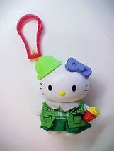 2000 Sanrio HELLO KITTY as Girl Scout Purse Luggage Backpack Bag Clip-On - $7.99