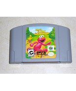 Elmo's Letter Adventure 64 ( Nintendo N64 ) Gam... - $19.99